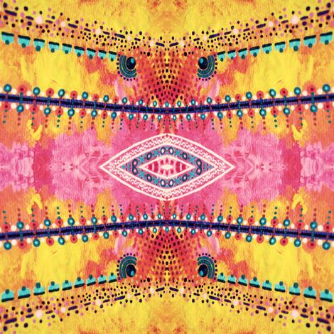 Ghost Painter fabric by loriwierdesigns on Spoonflower - custom fabric