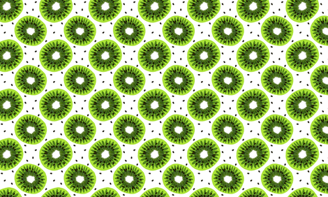 kiwi fabric by uramarinka on Spoonflower - custom fabric