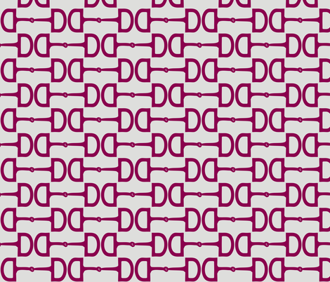 Snaffle Bits Jellybeans fabric by pennyroyal on Spoonflower - custom fabric