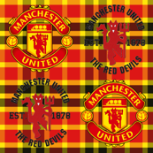 Manchester Plaid Crests