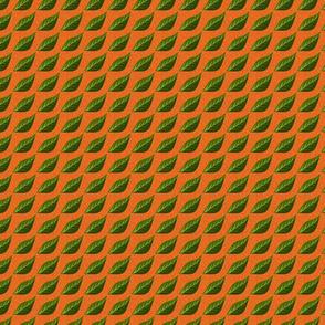 hojas naranja