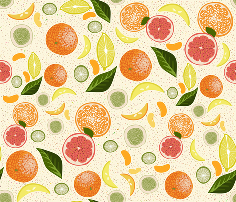 Citrus claro fabric by cousaspequenas on Spoonflower - custom fabric