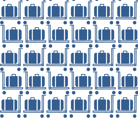 suitcaseb fabric by susiprint on Spoonflower - custom fabric