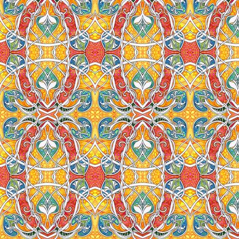 Sunshine Through My Window fabric by edsel2084 on Spoonflower - custom fabric