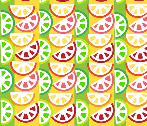 SOOBLOO_CITRUS_ALSO_THREE_1-01 fabric by soobloo on Spoonflower - custom fabric