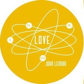 Atomic Lennon in Yellow