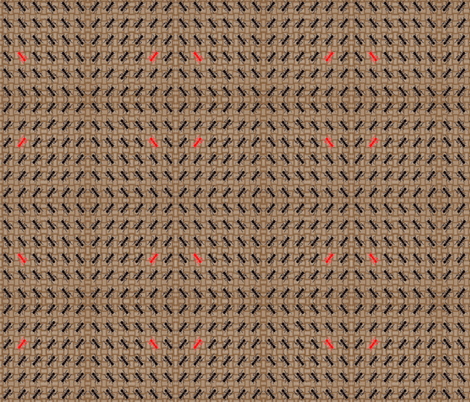 ants_on_basket fabric by tangledvinestudio on Spoonflower - custom fabric