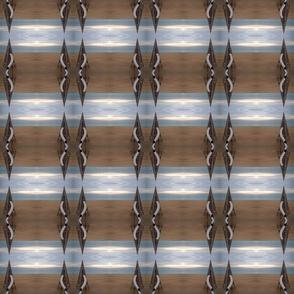 Barcelona beach stripe