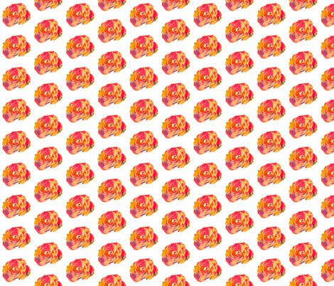 Rose fabric by mezzime on Spoonflower - custom fabric