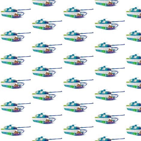 Tank fabric by mezzime on Spoonflower - custom fabric