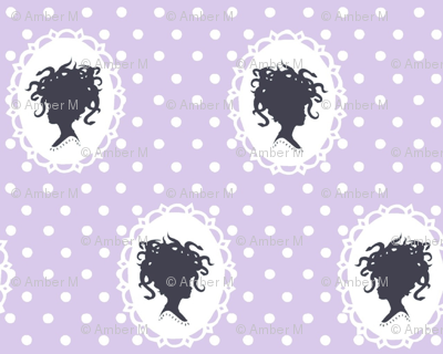 Medusa in lavender