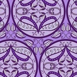 trellis in violet