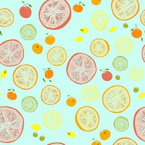 a citrus summer