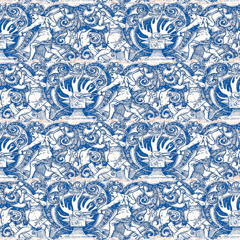 Dissertation fabric by amyvail on Spoonflower - custom fabric