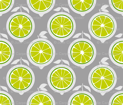 Julie's Green Lime Grid M