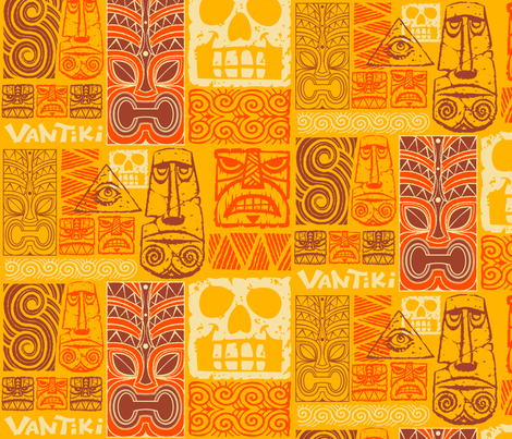 Vantiki Tapa fabric by vantiki on Spoonflower - custom fabric
