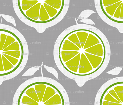 Julie's Green Lime Grid XL