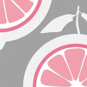 Julie's Pink Lemon Grid XL
