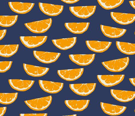 Summer Citrus fabric by jillbyers on Spoonflower - custom fabric