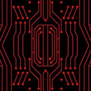 Circuit - Black/Red (Large)