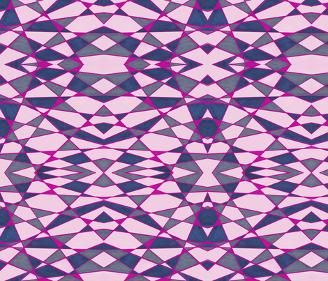 Electric Pinks fabric by erin_mcclain_studio on Spoonflower - custom fabric
