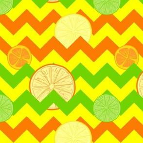 Citrus and Chevrons