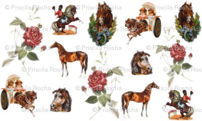 I had this bizarre dream with horses