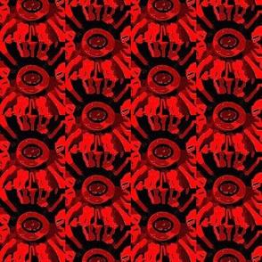blocked sun motif