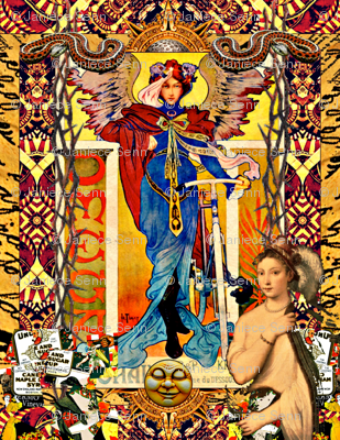 Omega vintage collage