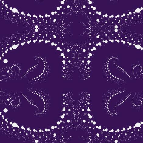Fractal Wedgewood Blue and White fabric by clotilda_warhammer on Spoonflower - custom fabric