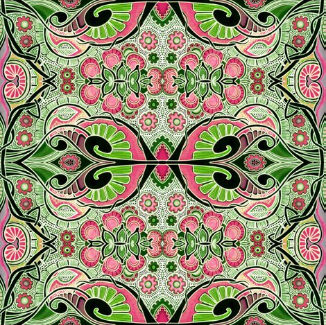 Fleur des alien weed patch fabric edsel2084 spoonflower for Alien fabric