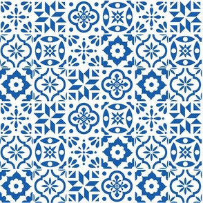 Spanish Tile Pattern - smaller size
