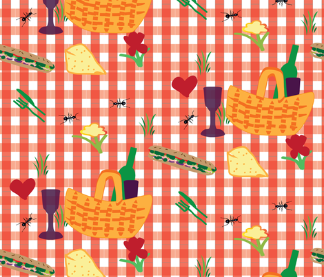 picnic_pattern1-02 fabric by amber_howard on Spoonflower - custom fabric