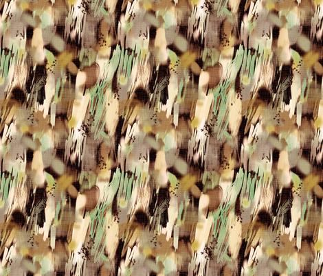 natural graffiti fabric by maja_studio on Spoonflower - custom fabric