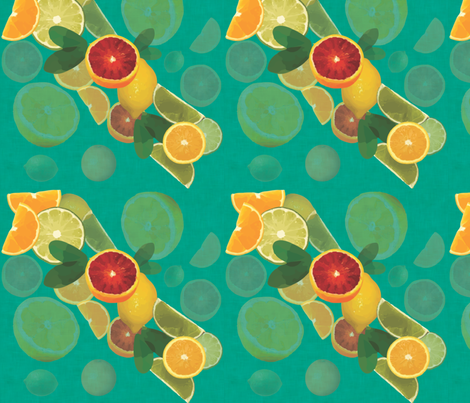 CitrusFruits fabric by brutiful on Spoonflower - custom fabric