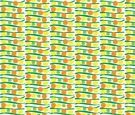 citrusstripes fabric by snap-dragon on Spoonflower - custom fabric