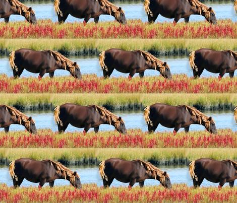 wild_pony fabric by dogdaze_ on Spoonflower - custom fabric