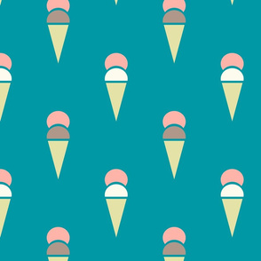 icecreamcones_teal