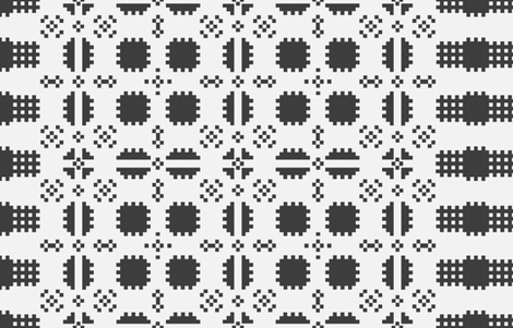 blanket clipart black and white. welsh picnic blanket - black and white light fabric by elramsay on spoonflower custom clipart