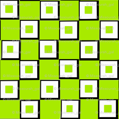 My Lime Green Squares