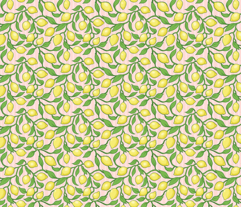 Pink Lemonade fabric by estrojenn on Spoonflower - custom fabric