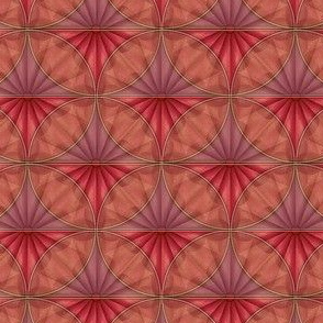 inlaid fan wine overlays
