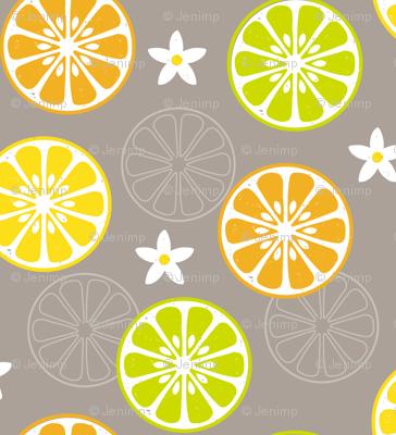 Orange, Orange, Lemon, Lime
