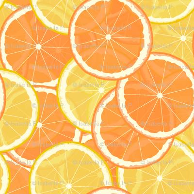 Citrus Table-Cloth