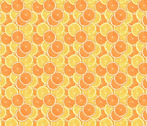 Citrus Table-Cloth fabric by inscribed_here on Spoonflower - custom fabric