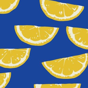 Summer Citrus - cobalt
