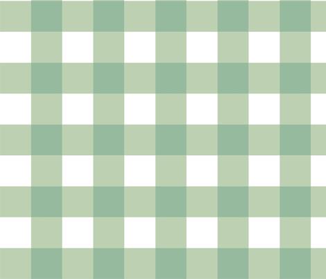 Aqua_Buffalo_Check fabric by kelly_a on Spoonflower - custom fabric