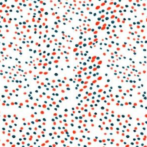 Orange and Blue Spots
