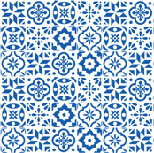 Spanish Tile Pattern - larger size
