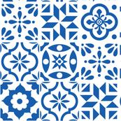 Spanish Tile Pattern - larger size